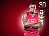 Norris Cole Red Zone Wallpaper
