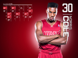 Norris Cole Red Zone Calendar Wallpaper