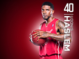 Udonis Haslem Red Zone Wallpaper
