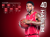 Udonis Haslem Red Zone Calendar Wallpaper