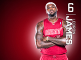 LeBron James Red Zone Wallpaper
