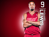 Rashard Lewis Red Zone Wallpaper