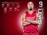 Rashard Lewis Red Zone Calendar Wallpaper