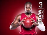 Dwyane Wade Red Zone Wallpaper