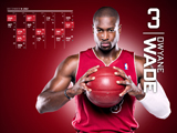 Dwyane Wade Red Zone Calendar Wallpaper