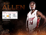 Ray Allen April Schedule Wallpaper