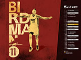 Chris Andersen March Name Collection Wallpaper