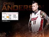 Chris Andersen April Schedule Wallpaper