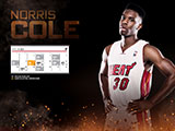 Norris Cole April Schedule Wallpaper
