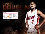 Toney Douglas April Schedule Wallpaper