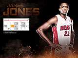 James Jones April Schedule Wallpaper