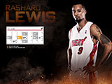 Rashard Lewis April Schedule Wallpaper