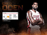 Greg Oden April Schedule Wallpaper
