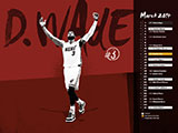 Dwyane Wade March Name Collection Wallpaper