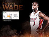 Dwyane Wade April Schedule Wallpaper
