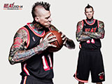 Chris Andersen Throwback Black Wallpaper