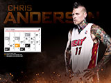 Chris Andersen January Calendar Wallpaper