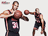 Shane Battier Throwback Black Wallpaper