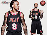 Michael Beasley Throwback Black Wallpaper