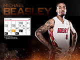 Michael Beasley January Calendar Wallpaper