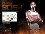 Chris Bosh January Calendar Wallpaper
