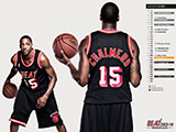 Mario Chalmers Throwback Black Wallpaper