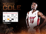 Norris Cole January Calendar Wallpaper