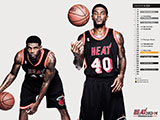Udonis Haslem Throwback Black Wallpaper