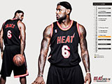 LeBron James Throwback Black Wallpaper