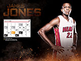 James Jones January Calendar Wallpaper