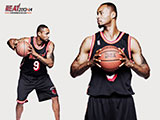 Rashard Lewis Throwback Black Wallpaper