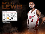 Rashard Lewis January Calendar Wallpaper