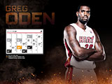 Greg Oden January Calendar Wallpaper