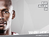Ray Allen White Hot Wallpaper