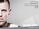 Chris Andersen White Hot Wallpaper