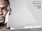 Chris Bosh White Hot Wallpaper
