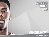 Norris Cole White Hot Wallpaper