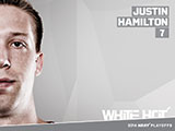 Justin Hamilton White Hot Wallpaper