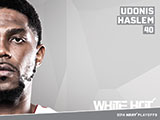 Udonis Haslem White Hot Wallpaper