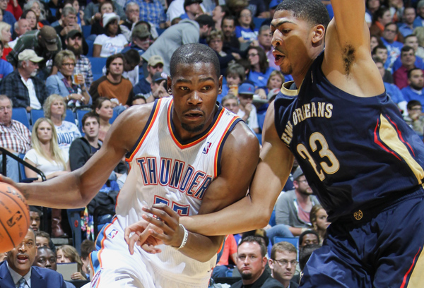 Kevin Durant headlines West team while LeBron James will lead the East.