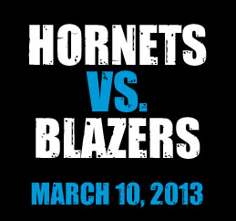 Hornets vs. Trail Blazers