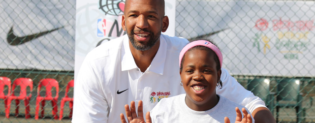 Monty Williams in South Africa for NBA Basketball Without Borders Trip