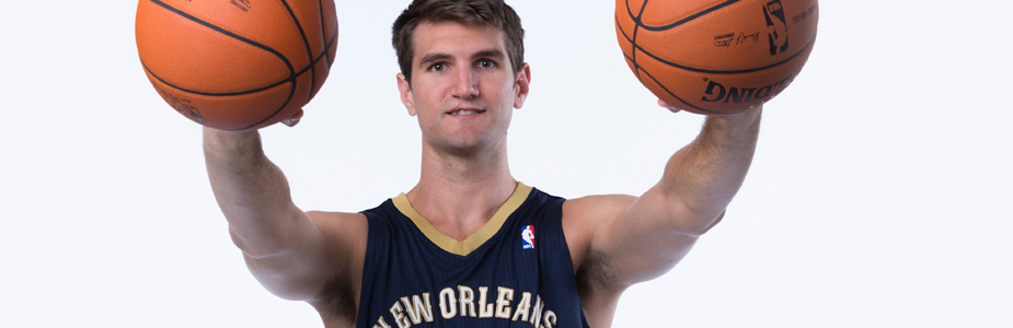 Jeff Withey receives invaluable lessons at voluntary workouts