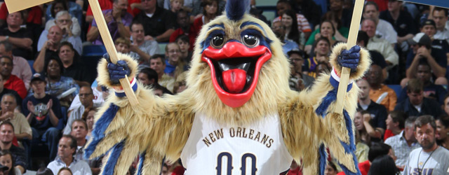 Pelicans unveil its new mascot, Pierre the Pelican