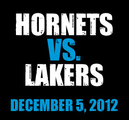 Hornets vs. Lakers
