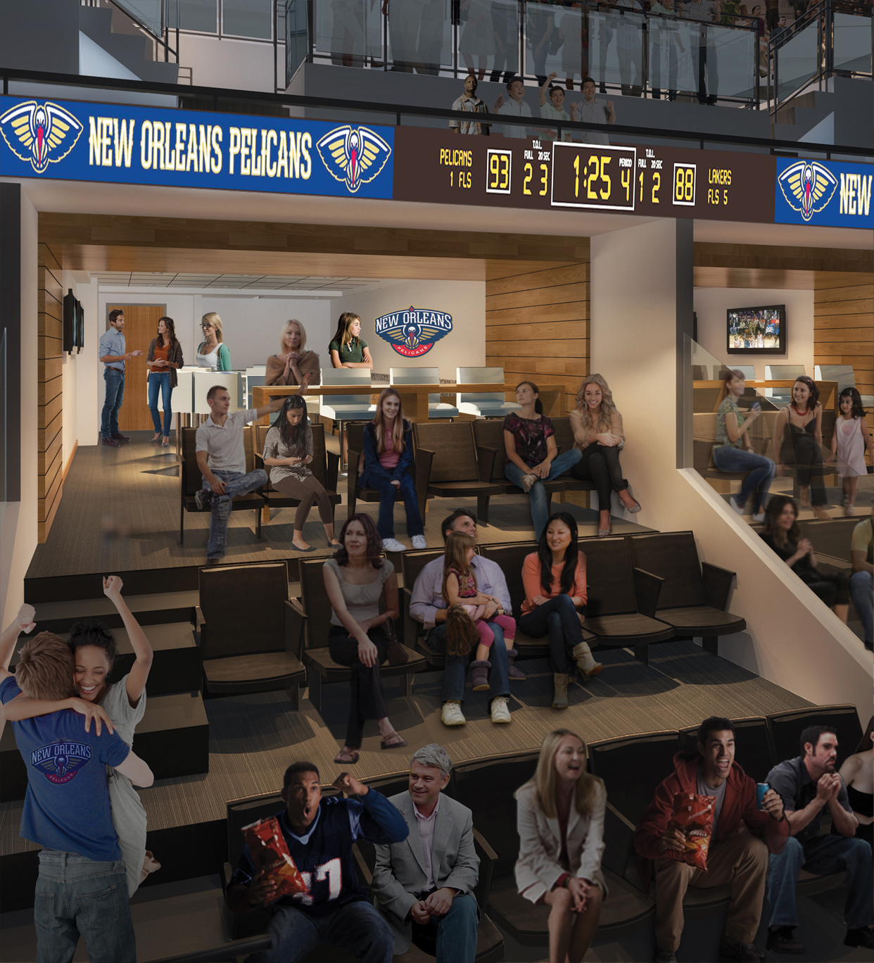 2013-14 Premium Seating: Suites | THE OFFICIAL SITE OF THE ...