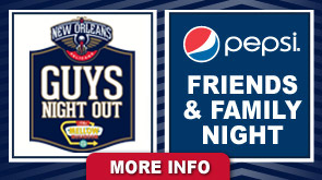 Pelicans Single Game Promotions