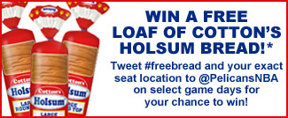 Win a free load of Cottons Holsum bread