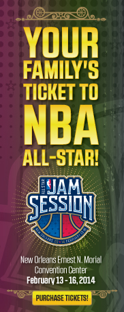 NBA All-Star Event Tickets On Sale Now