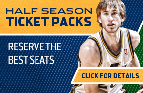 2013-14 Utah Jazz Half Season Ticket Plans